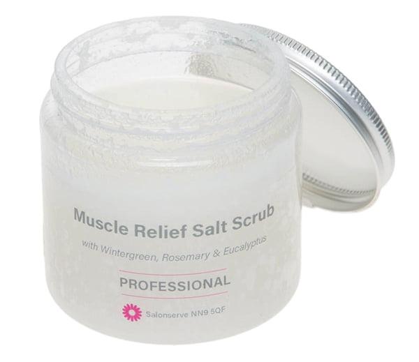 Muscle Relief Salt Scrub