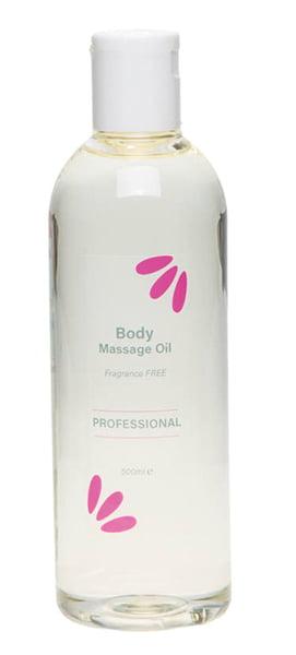 Fragrance Free Body Massage Oil