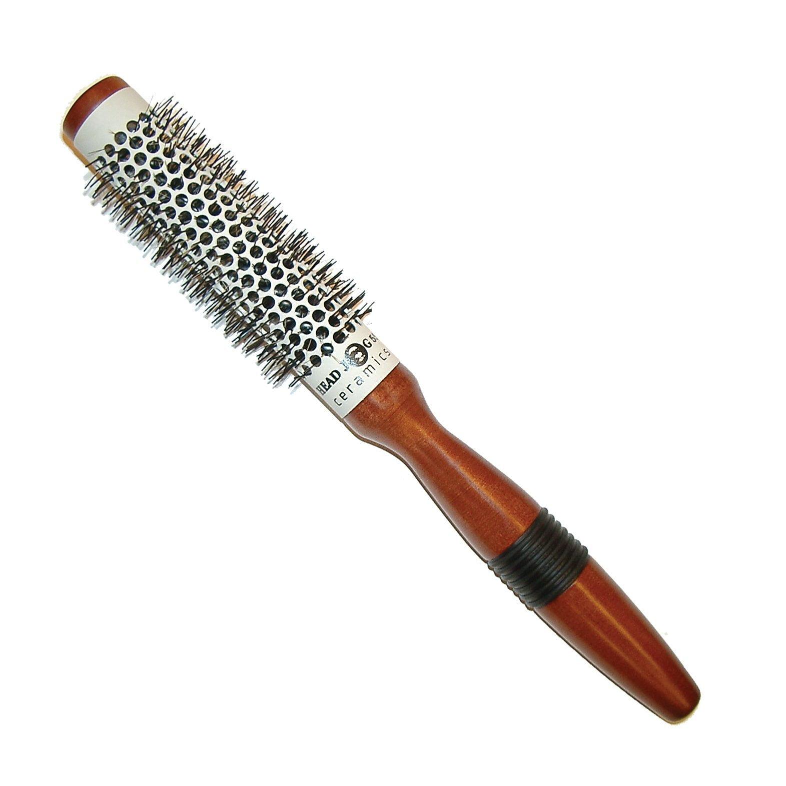 Head Jog 55 - 25mm Ceramic Wooden Radial Brush