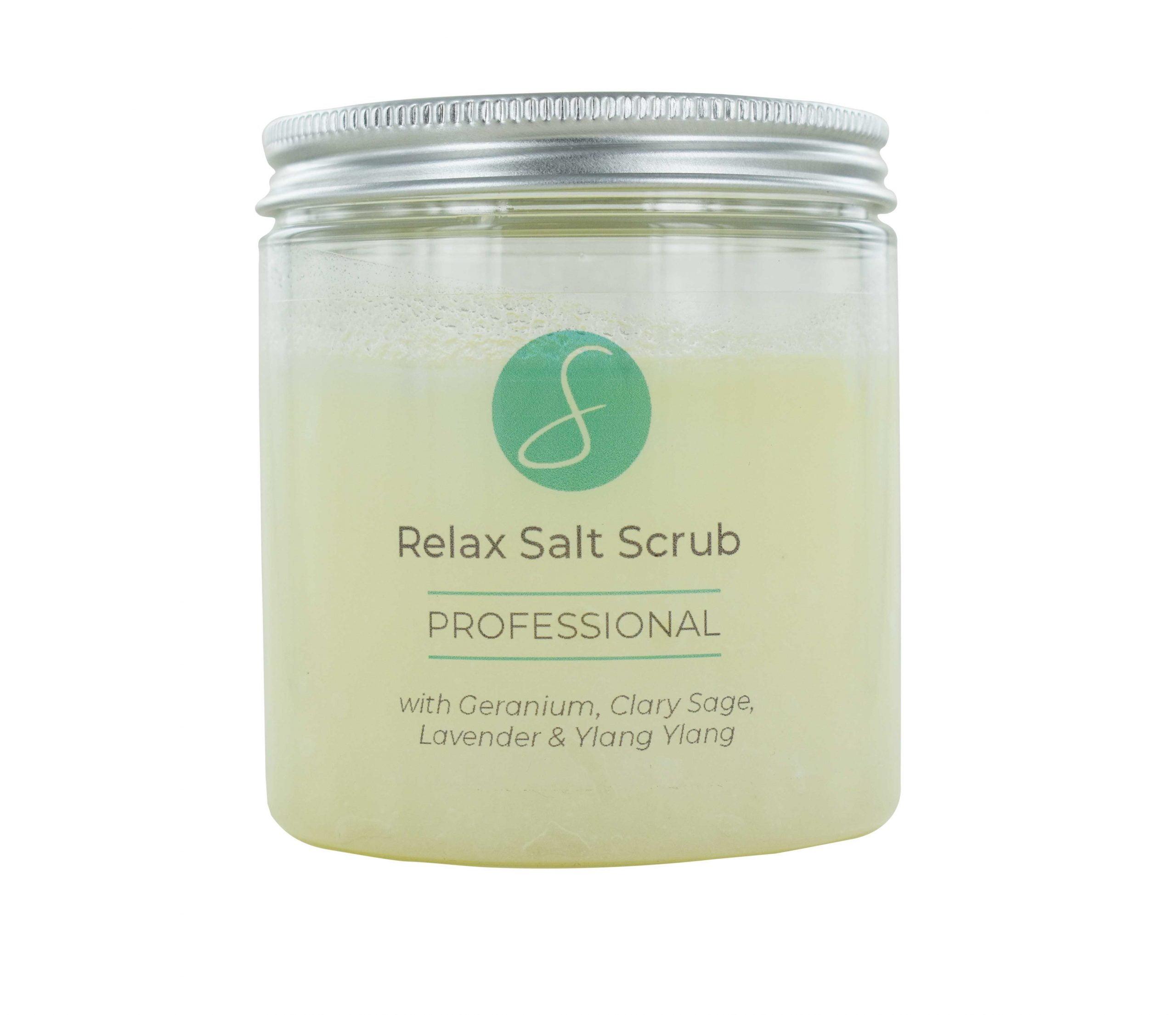 Relax Salt Scrub