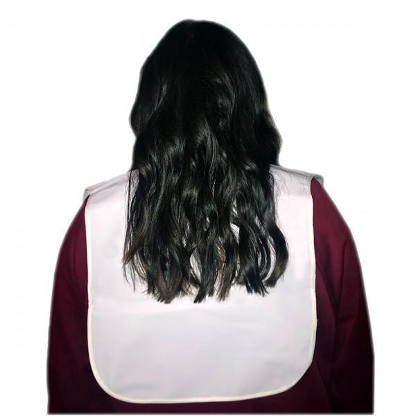 Hair Tools - White Cutting Collar