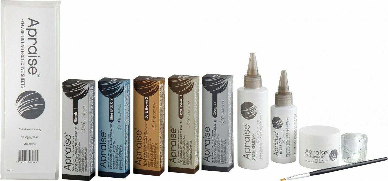 Apraise Salon Starter Eyelash Brow tinting kit