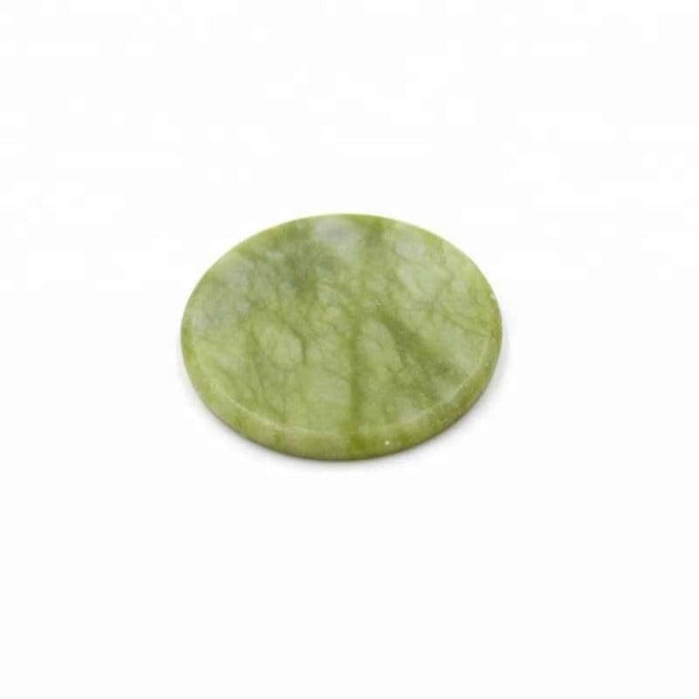 Jade eyelash stone for glue