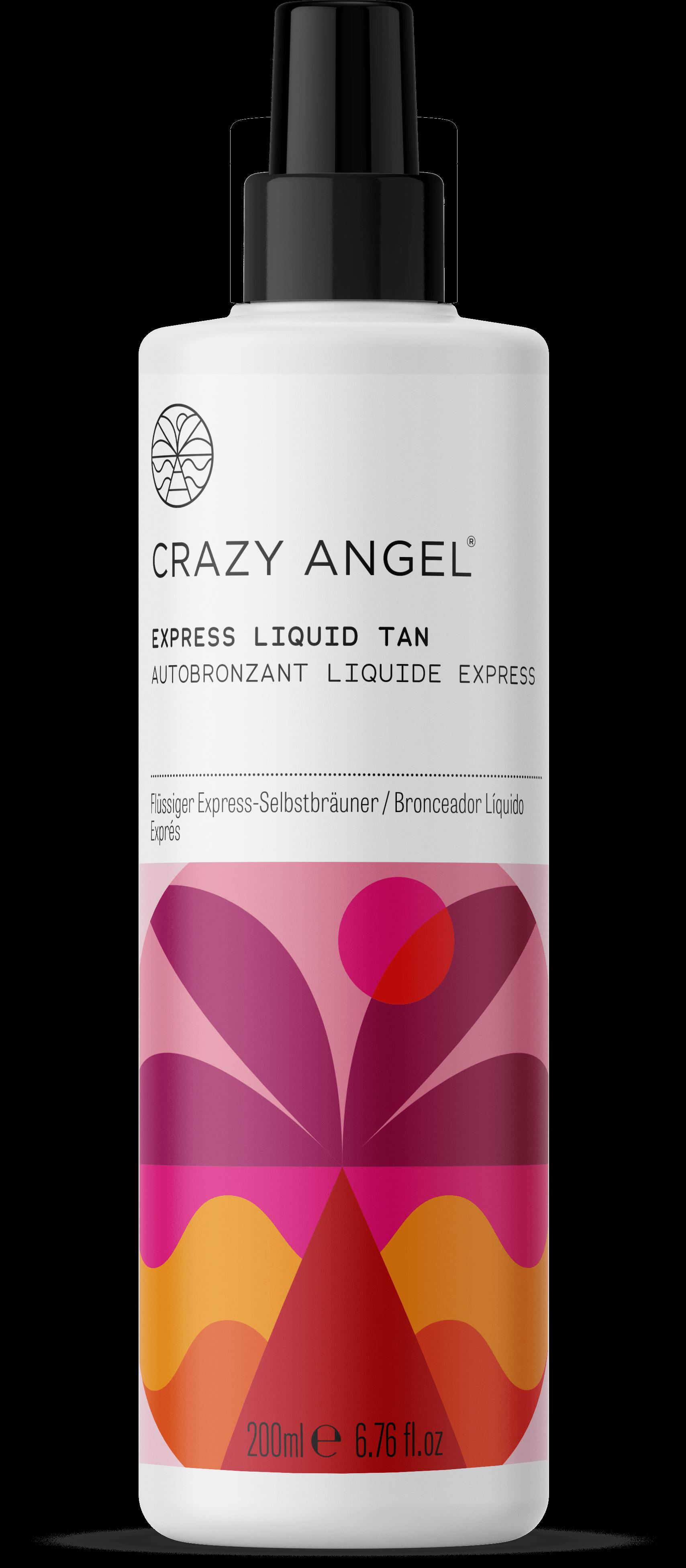 Crazy Angel Express Self-Tan Liquid 200ml