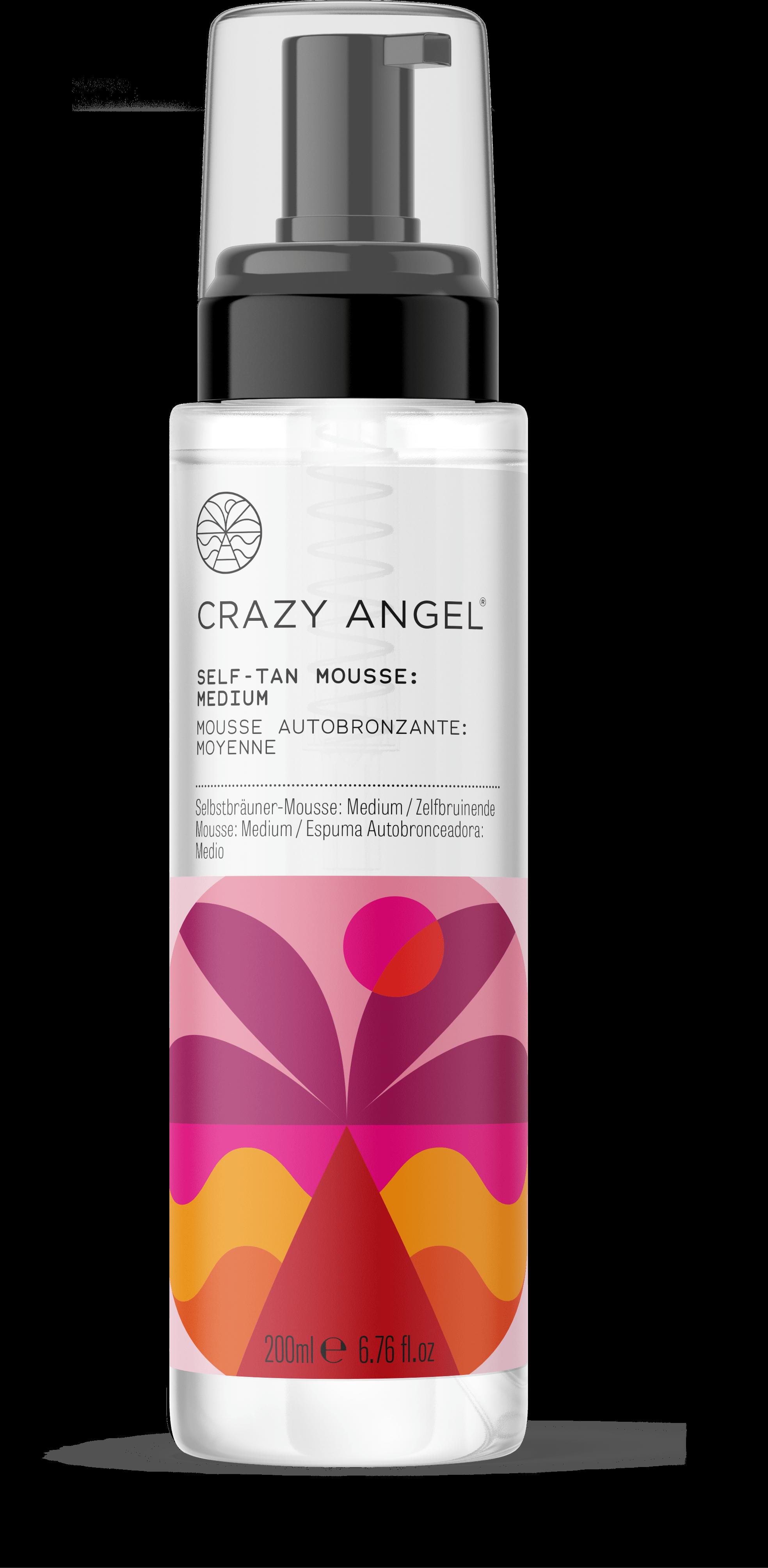 Crazy Angel Self-Tan Mousse Medium/Dark 200ml