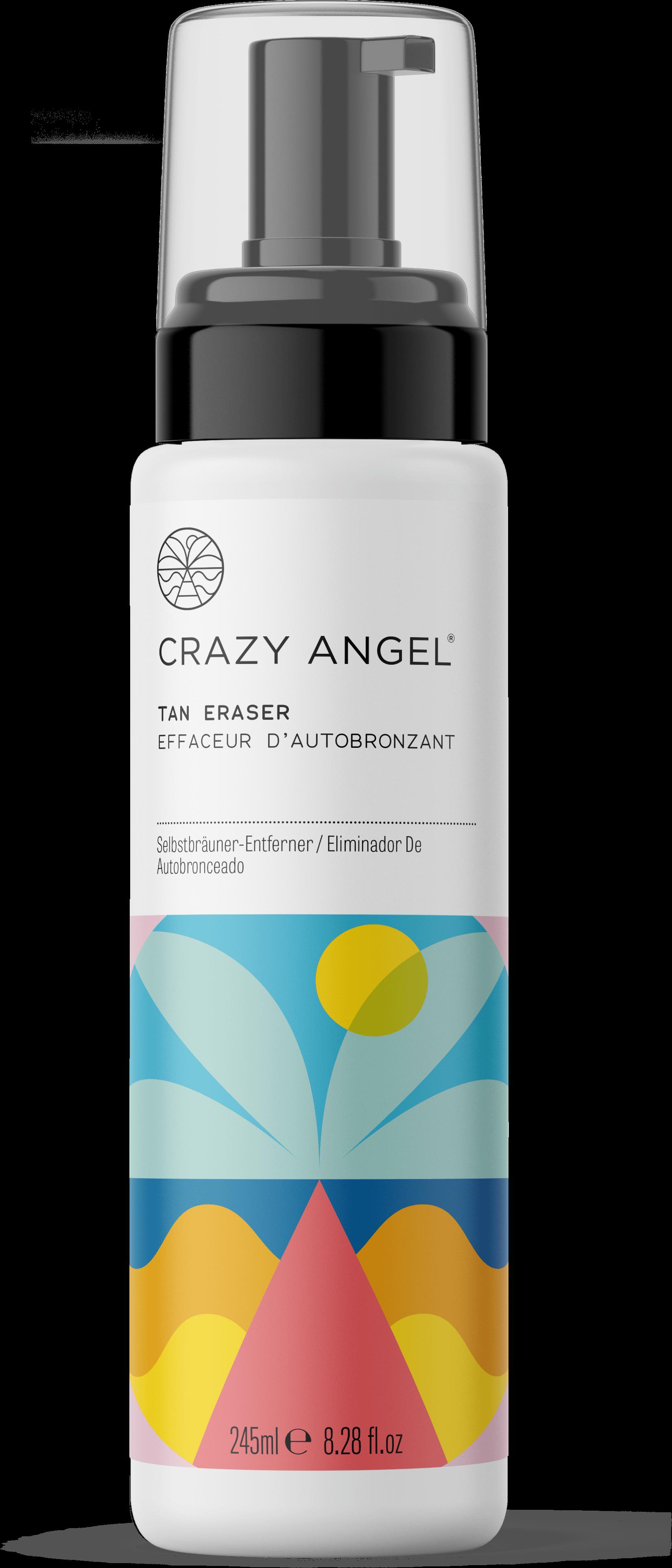 Crazy Angel Tan Eraser 200ml